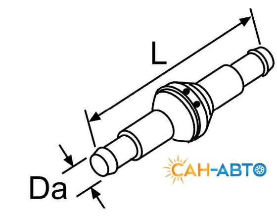 Обратный клапан 2х20 / ВБ (15685A).