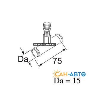 Клапан для удаления воздуха (112392).